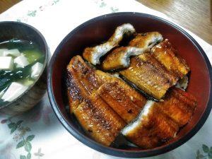 鰻丼,おうちごはん
