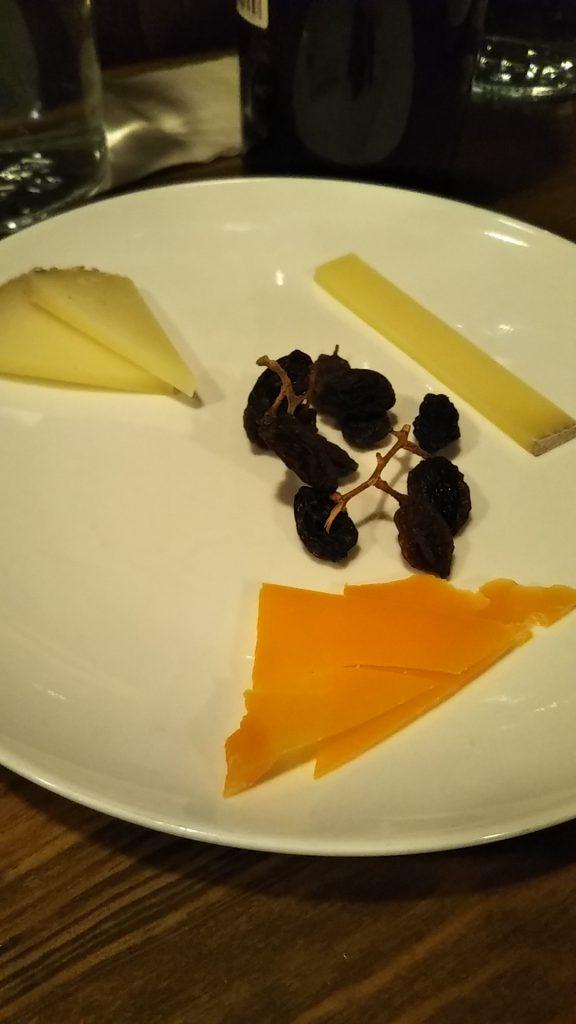チーズ盛り合わせ くいぜ
